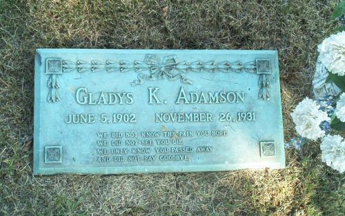 GladysKelleyGravestone